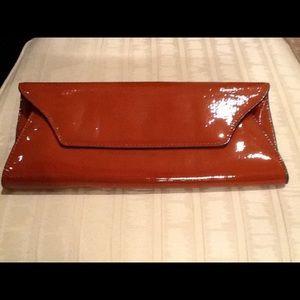 Melie Bianco 'Riley' Faux Leather Envelope Clutch
